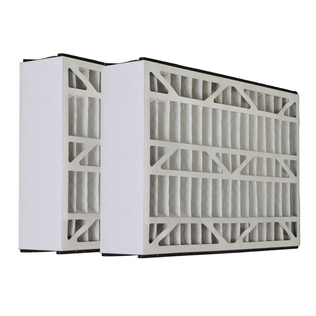 Skuttle #000-0448-002 - 20x25x5 - MERV 8 Comparable Air Filter - 2PK
