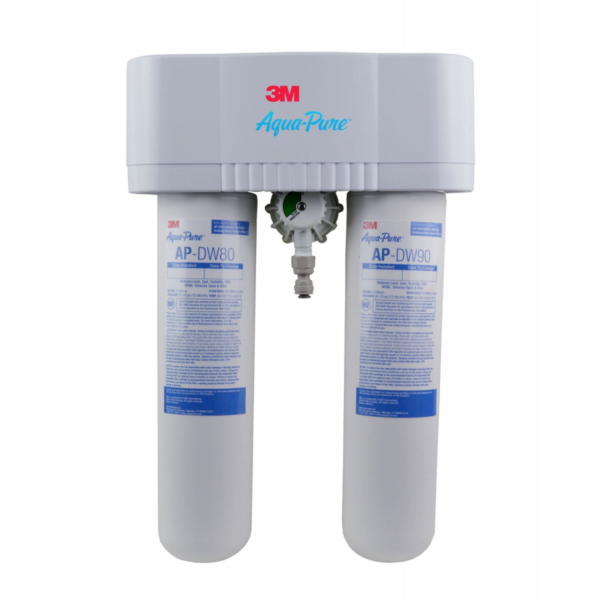 Ap Dws1000 5583101 3m Aqua Pure Under Sink Dedicated Faucet Water Filter System