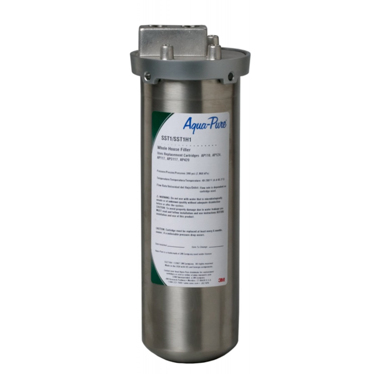 Sst1 3m Aqua Pure Whole House Filtration System