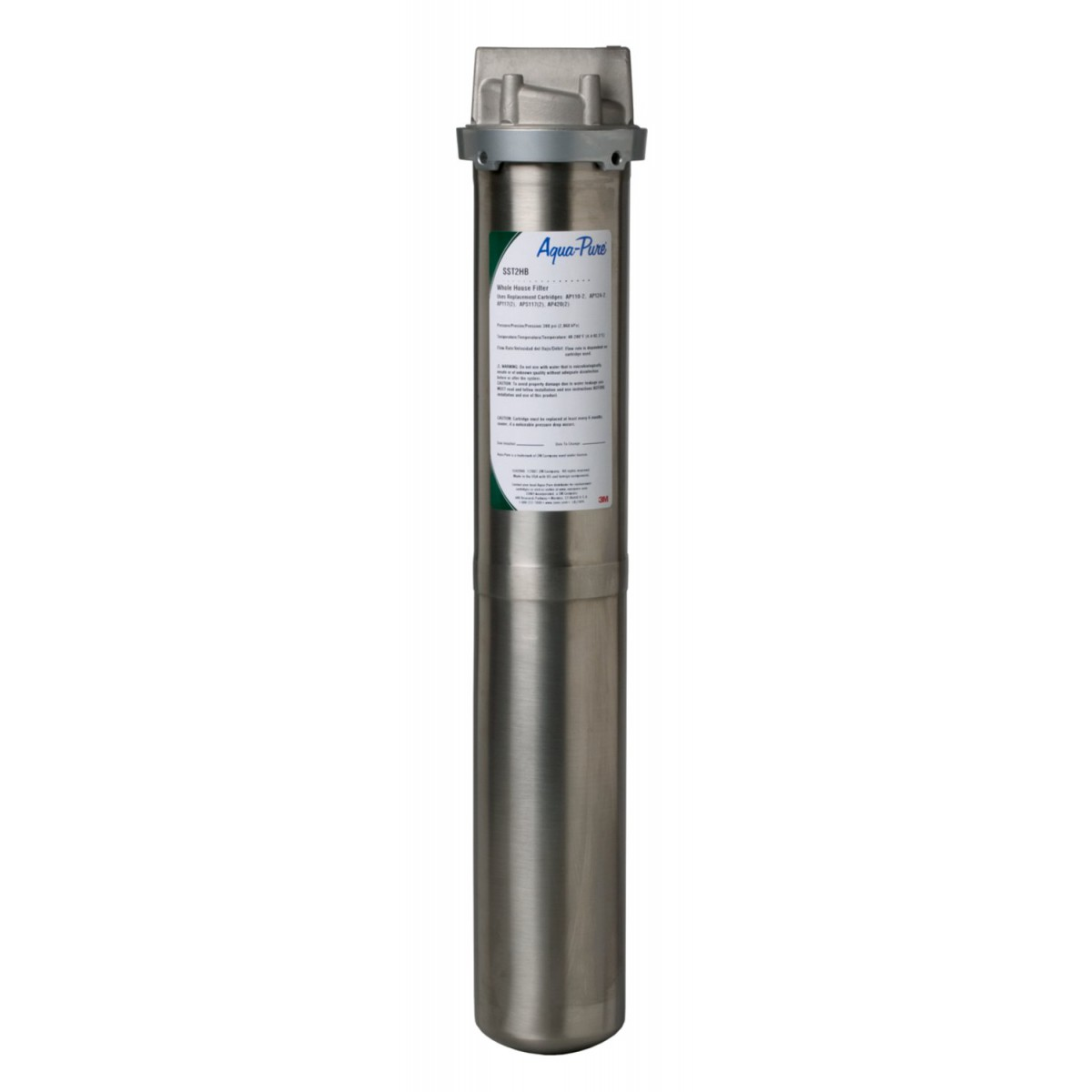 Sst2hb 3m Aqua Pure Whole House Filter System