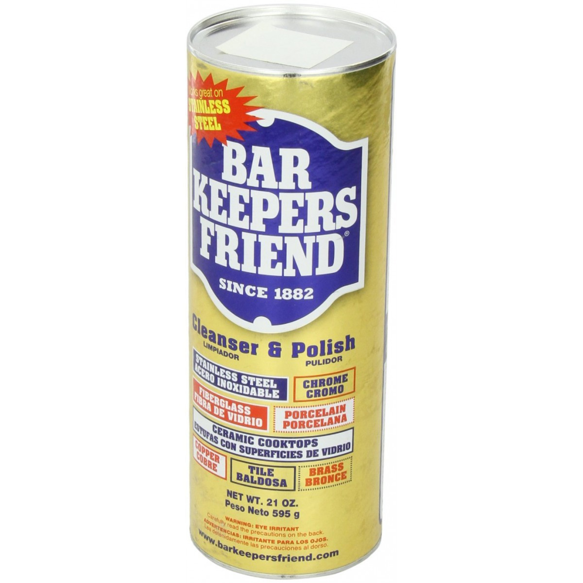 Bar Keepers Friend Cooktop Cleaner 21 Ounce