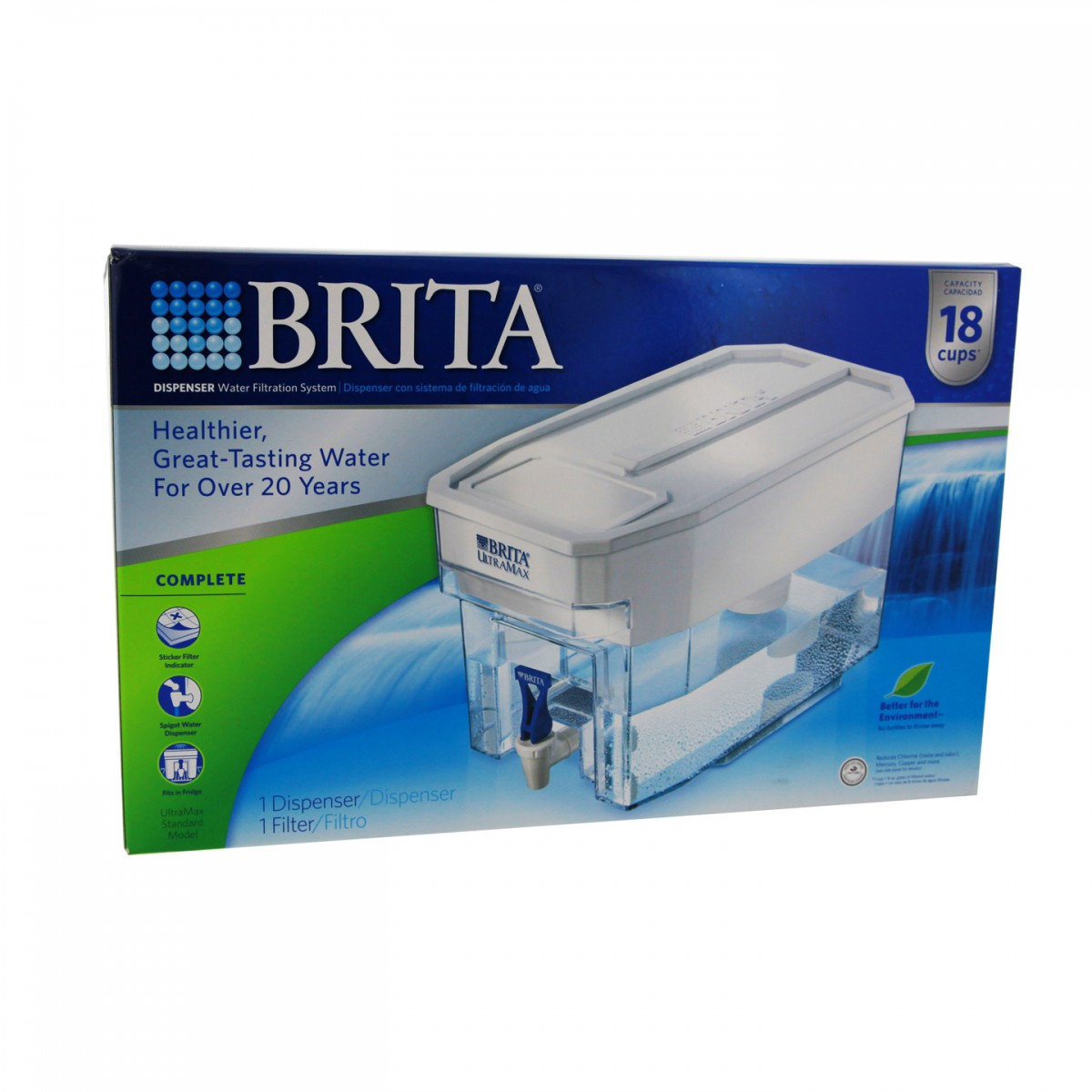Brita Ultramax Water Filter Pitcher 35302 226