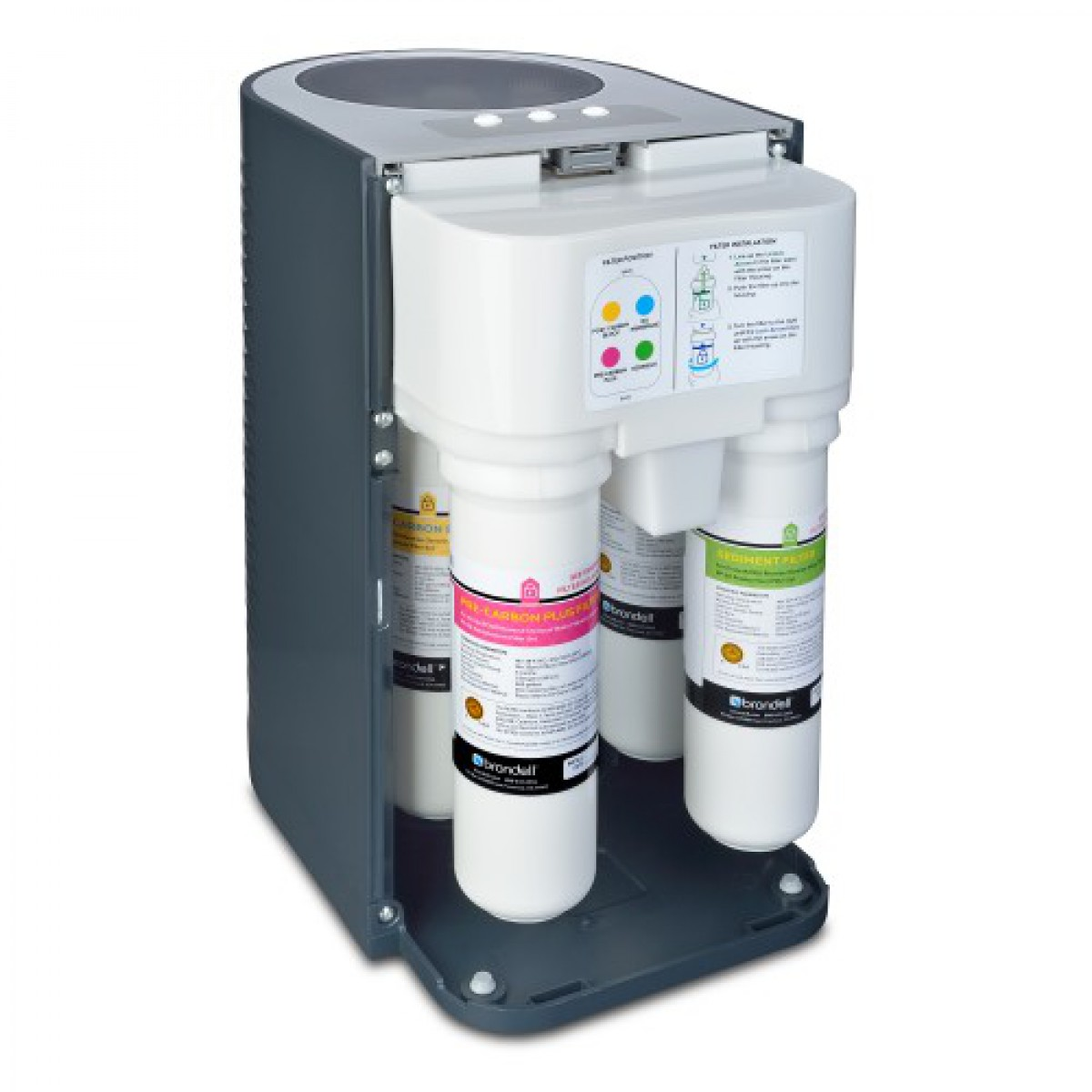 Brondell H2o Circle Reverse Osmosis Water Filtration System