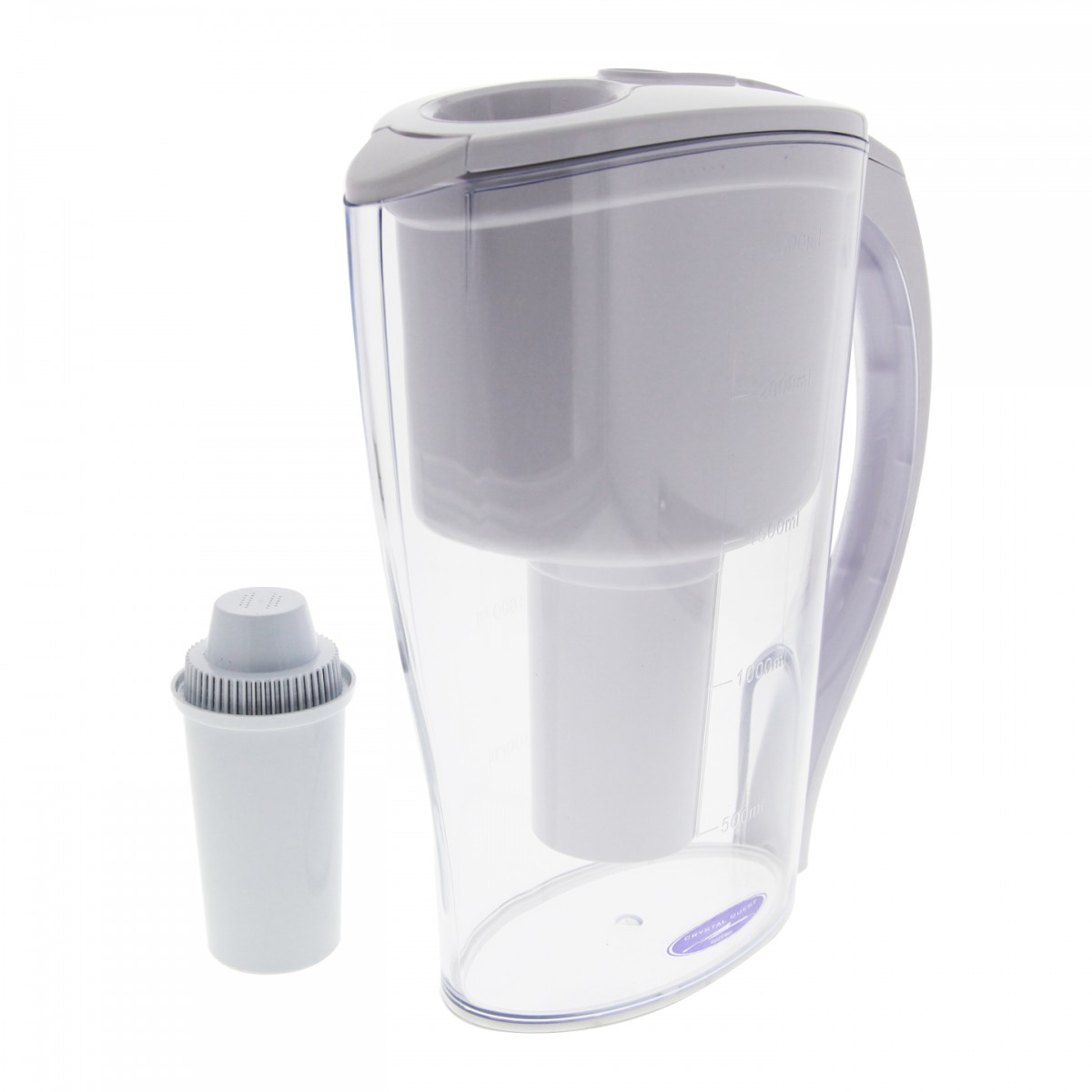 Crystal Quest Clear Water Filter Pitcher 226