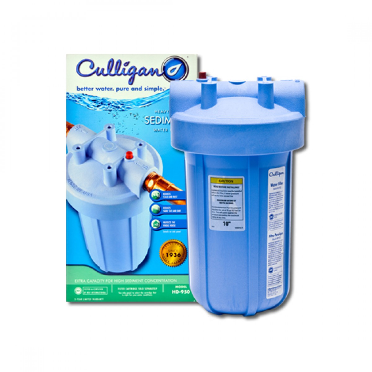 culligan whole house water filter. Contemporary Culligan HD950 Culligan Whole House Filter System To Water C