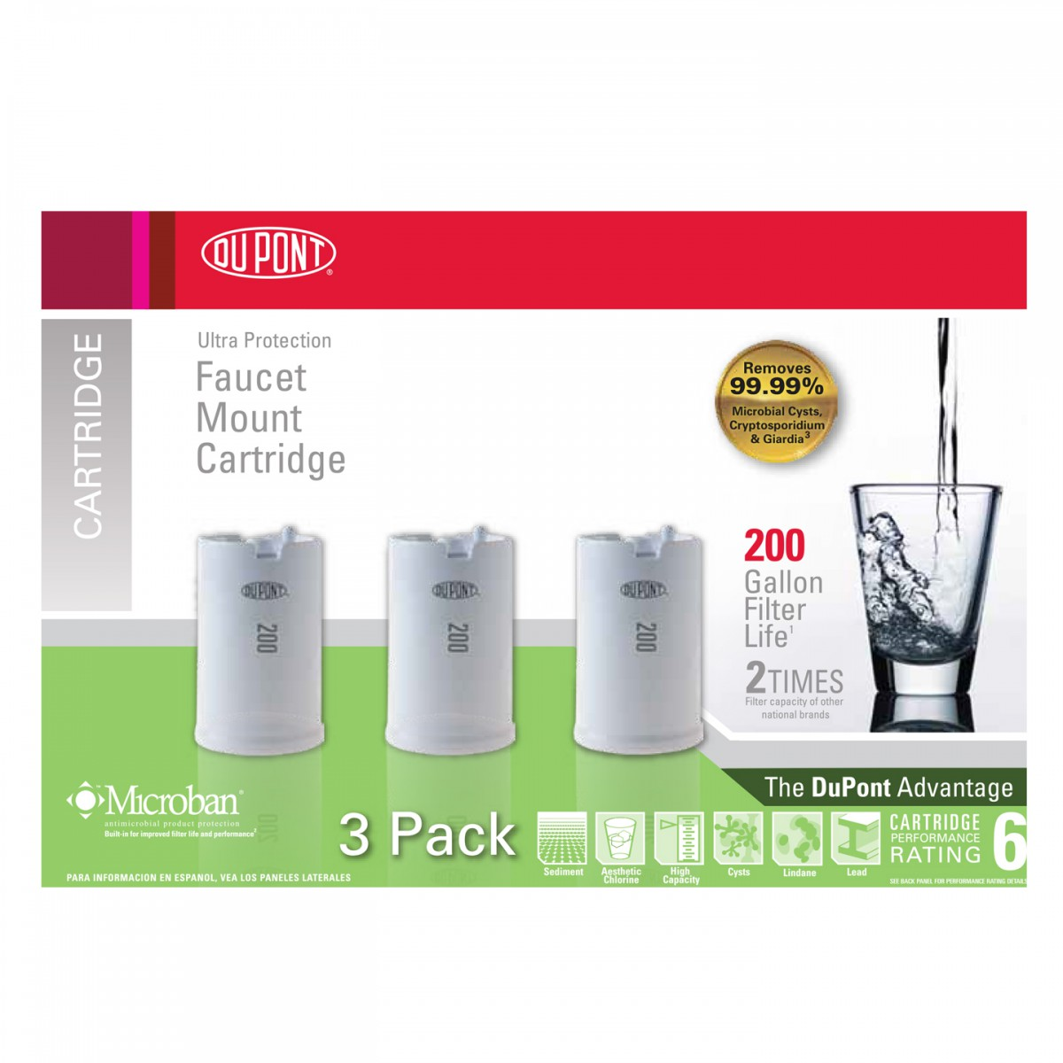 Dupont WFFM100XCH Replacement Water Filter- DiscountFilterStore.com