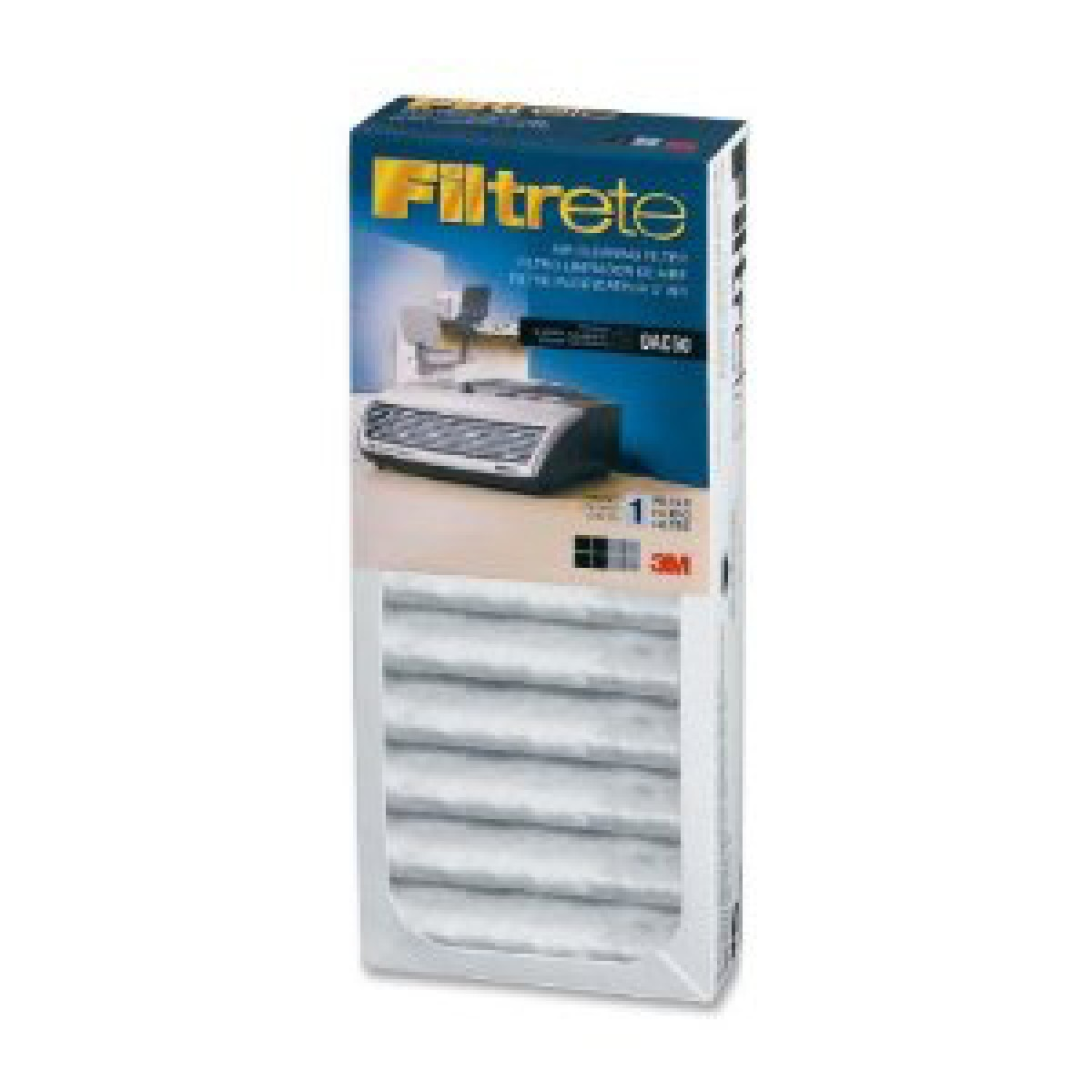 Oac50rf 6 Filtrete Office Air Purifier Replacement Filter Pack