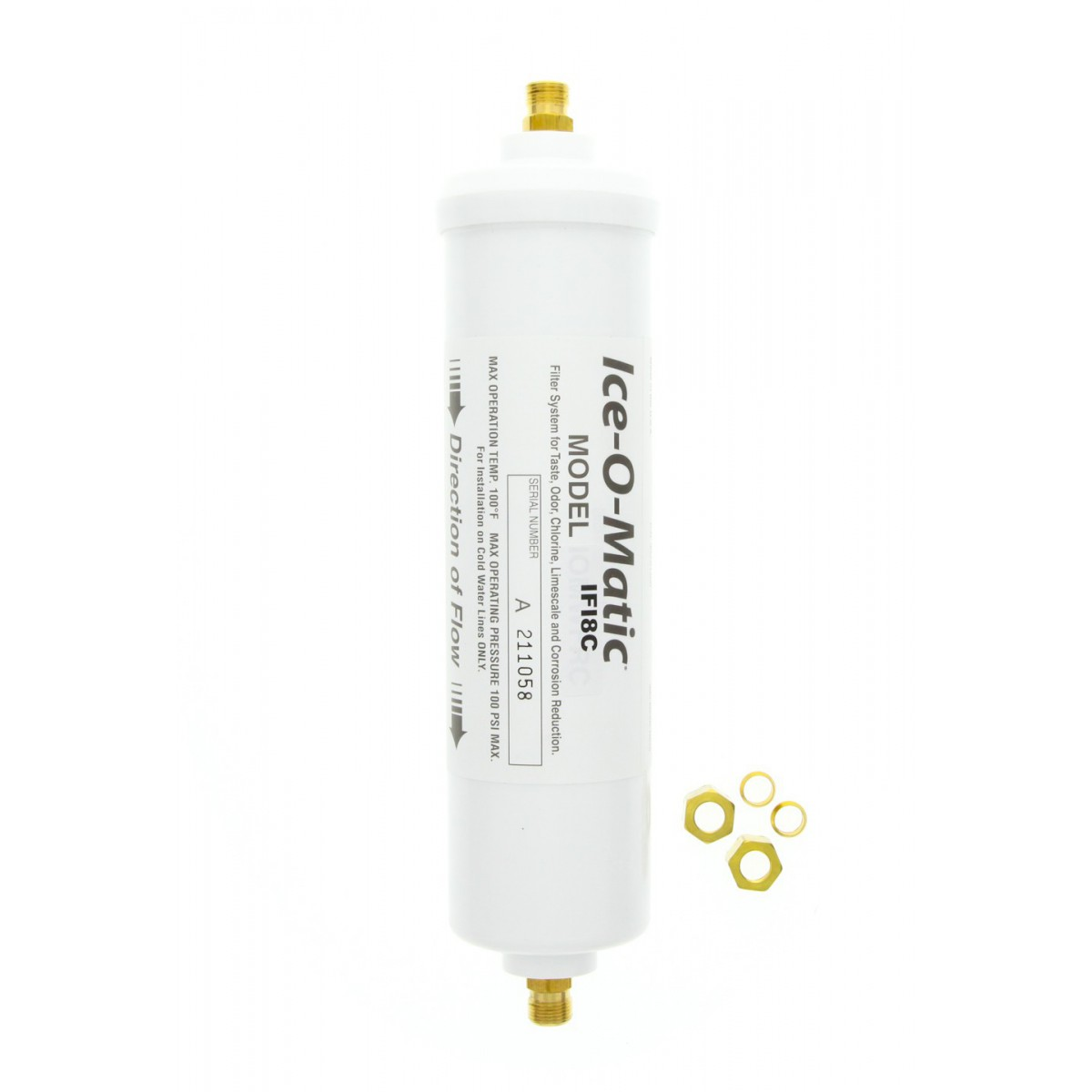 If18c Ice O Matic Inline Water Filter 226