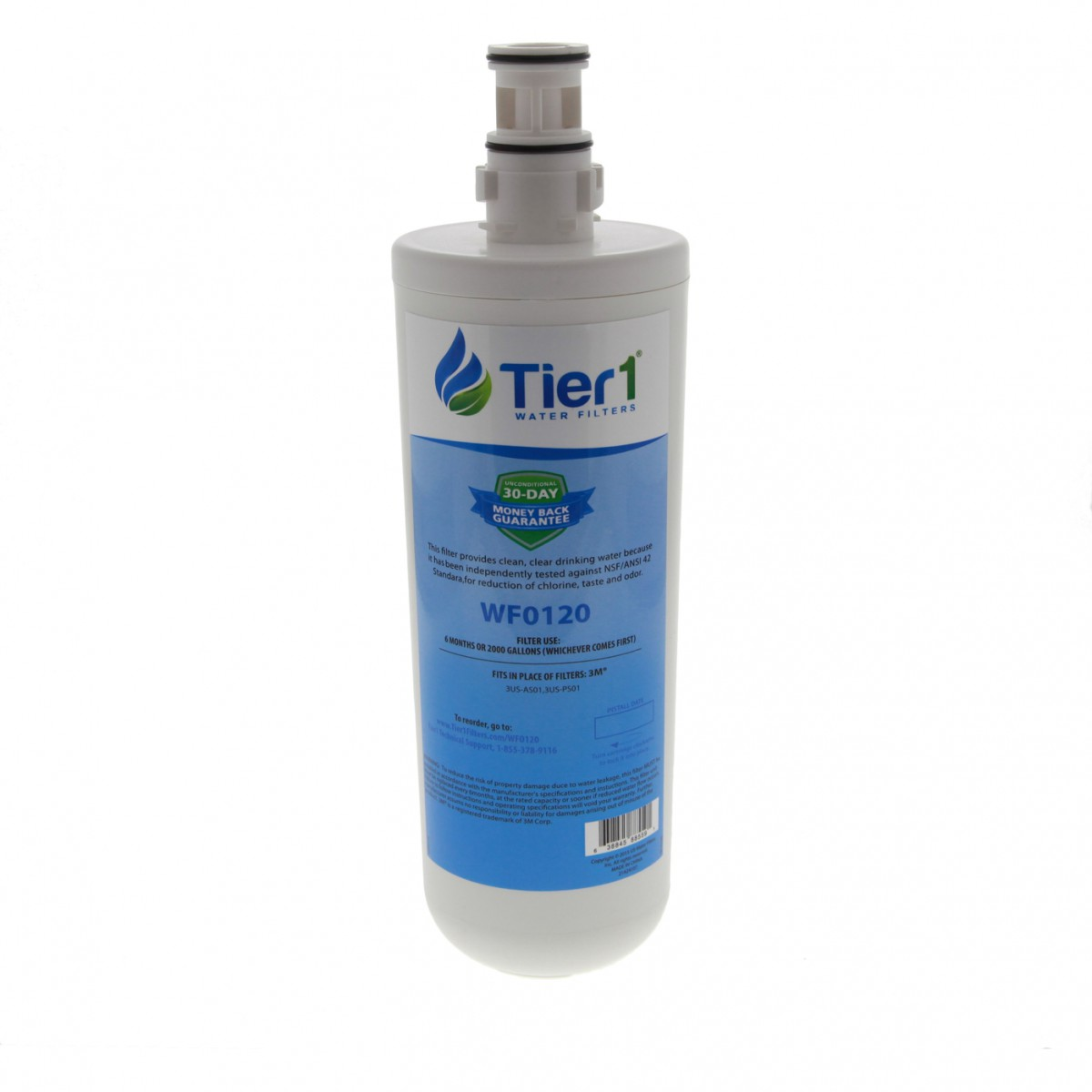 3us Pf01 Filtrete Comparable Undersink Filter Replacement