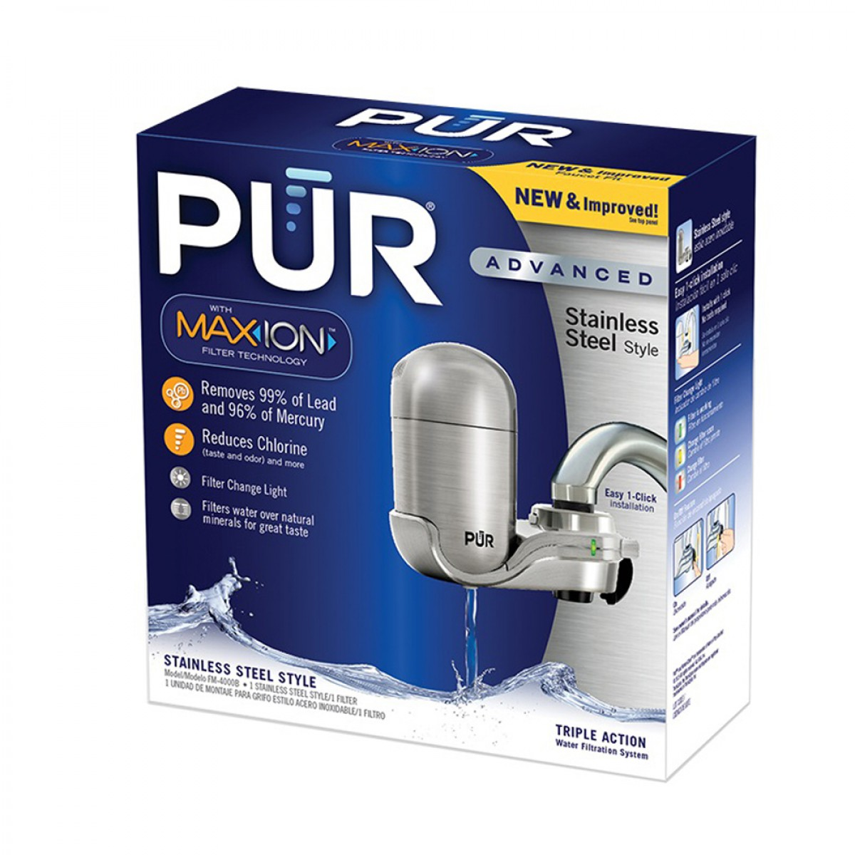 Pur Fm 4000b Advanced Faucet Water Filter System