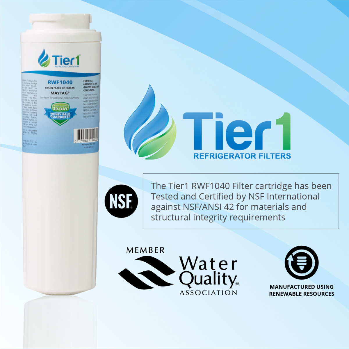 Refrigerator Water Filter for Kenmore 46-9006