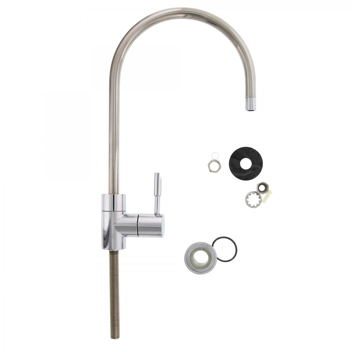 satin single filtration faucets nickel magellan kingston handle water filter faucet product brass