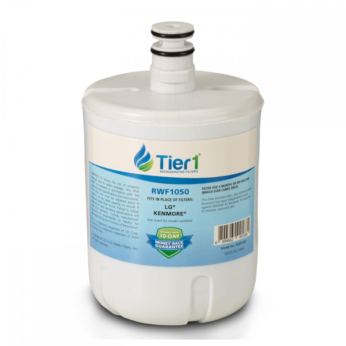 NS-LT500P-1 Insignia Replacement Refrigerator Water Filter by Tier1