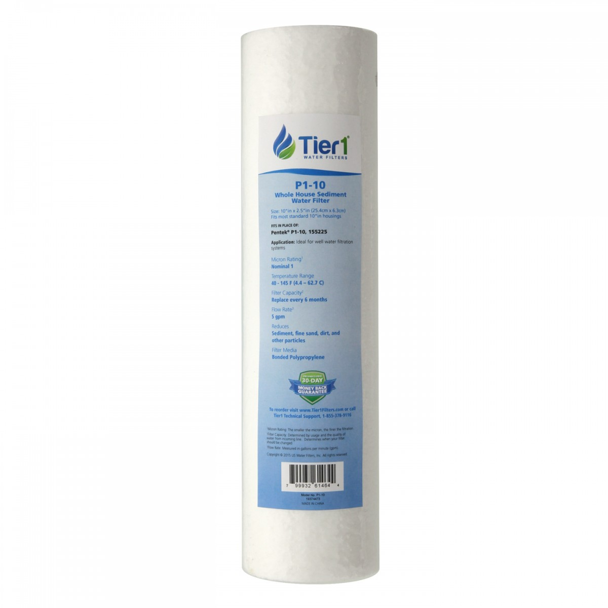 Whole house sediment water filter Carbon Waterfiltersnet P1 Pentek 10 25inch Whole House Sediment Water Filter Replacement