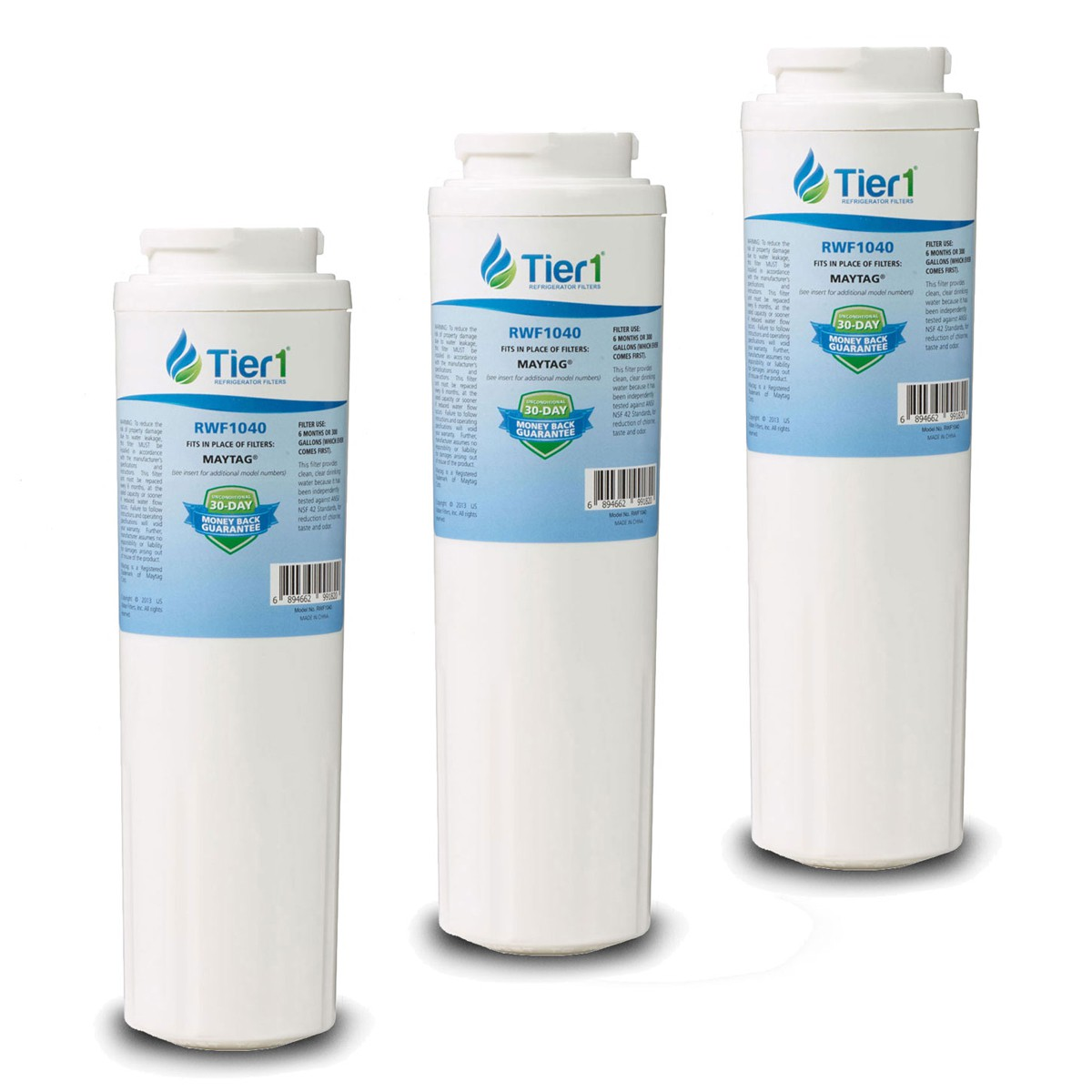 Ukf8001axx Replacement Refrigerator Water Filter By Tier1
