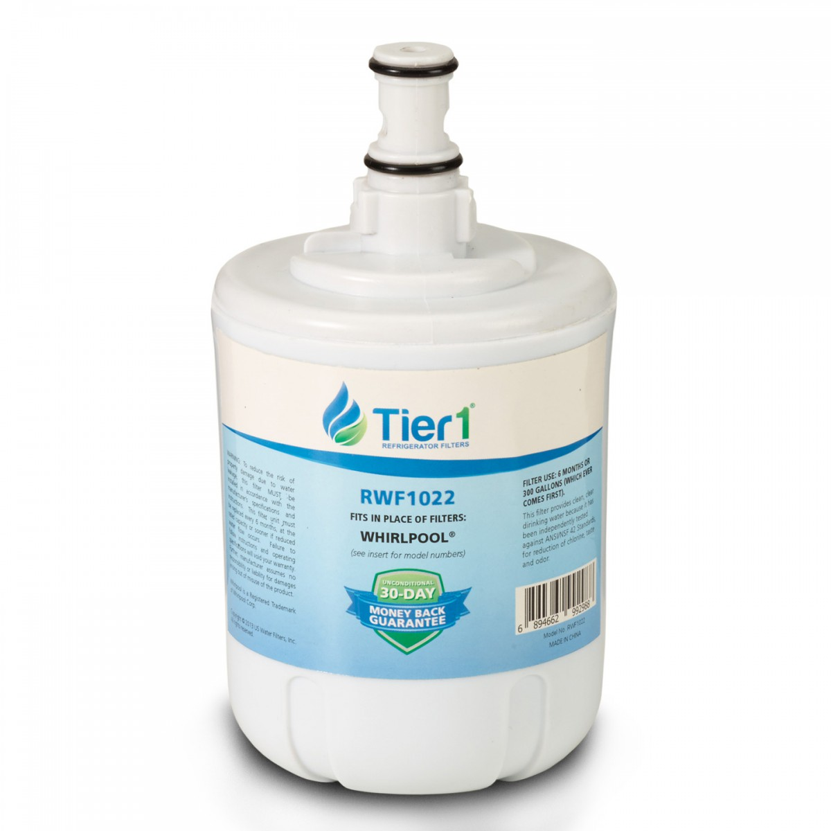 Wfi Nlcs200 Whirlpool Refrigerator Water Filter