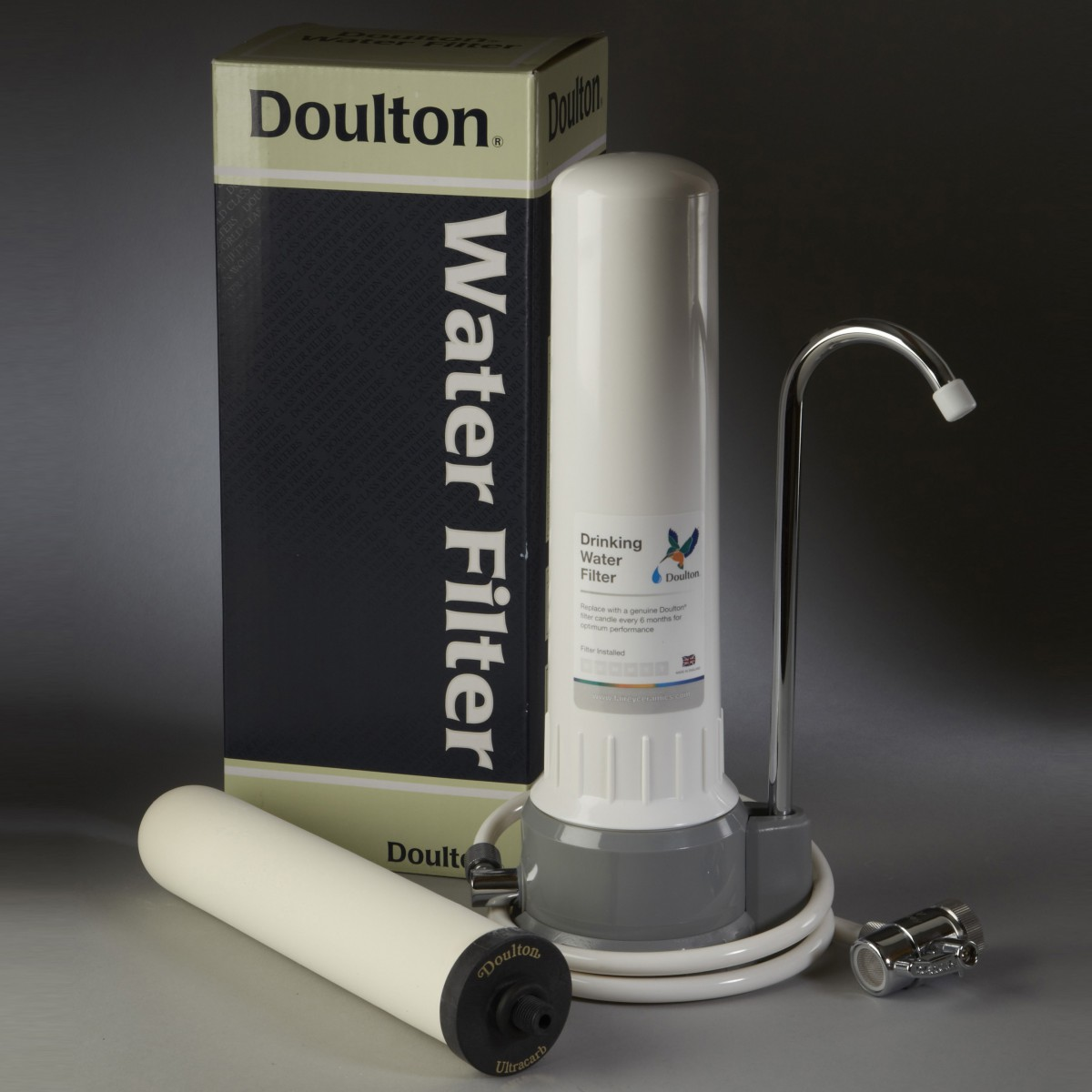 Doulton W9331032 Ultracarb Countertop Filter System