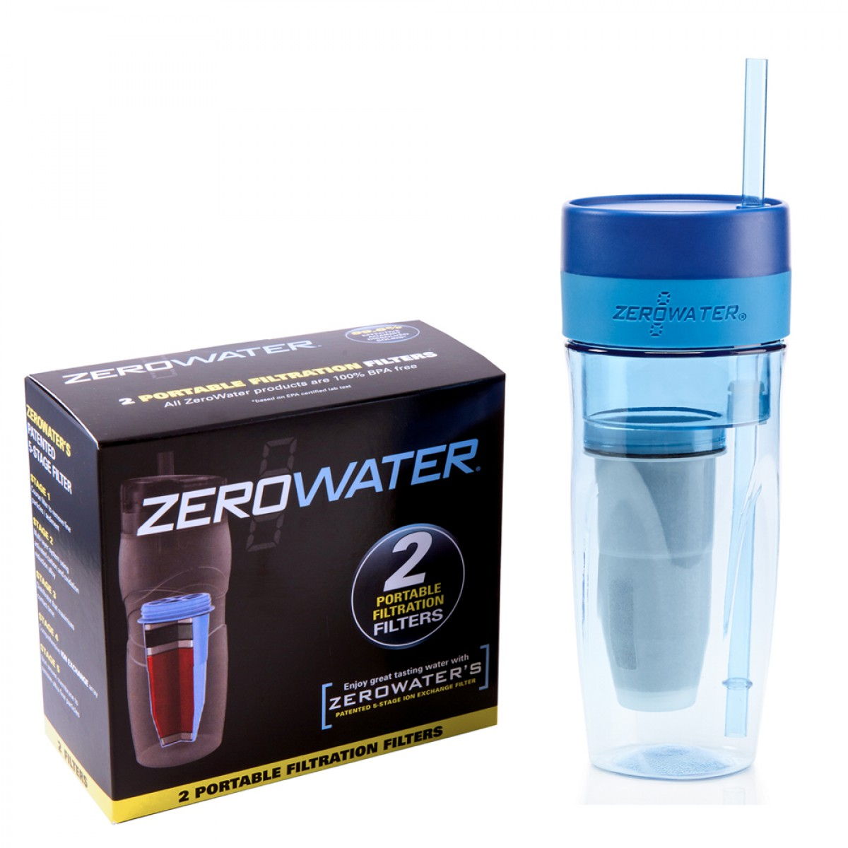 Zerowater Tumbler Amp Replacement Filters 226