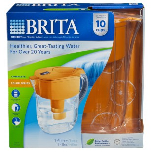 35430 Brita Grand Pitcher Orange