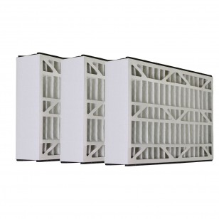 Tier1 brand replacement for Lennox X0581 - 16 x 25 x 3 - MERV 11 (3-Pack)