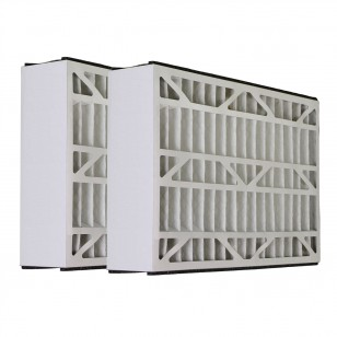 Tier1 brand replacement for Carrier - 20 x 25 x 5 - MERV 11 (2-Pack)