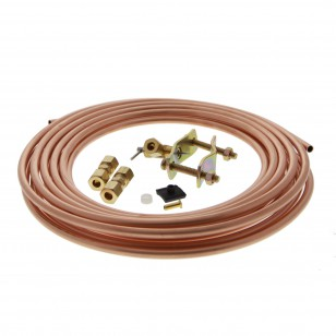 1/4-inch Copper Water Line Install Supply Line Kit by Tier1