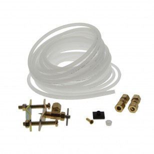 Plastic 25-foot 1/4-inch Polyethylene Tubing Install Supply Line Kit by Tier1