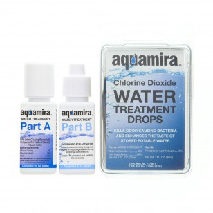 67200 Aquamira Water Treatment Drops (1 oz.) - front