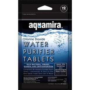 67400 Aquamira Water Purifier Tablets (12-Pack)