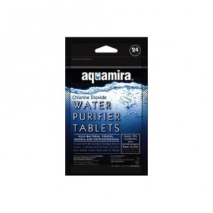 67401 Aquamira Water Purifier Tablets (24-Pack)
