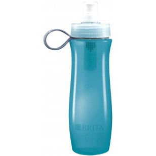 BOTTLE-BLUE-FILTER-INSIDE Brita 20-Ounce Water Purifier Bottle - Blue