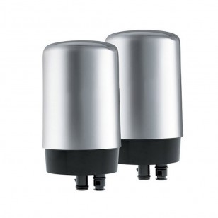 42618 Brita On-Tap FR-200 Faucet Filter Replacement Cartridge - Chrome (2-Pack)