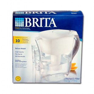 42378 Brita Deluxe OB26 80-Ounce Water Pitcher