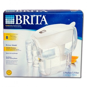 42557 Brita Riviera SMART OB35 64-Ounce Water Pitcher