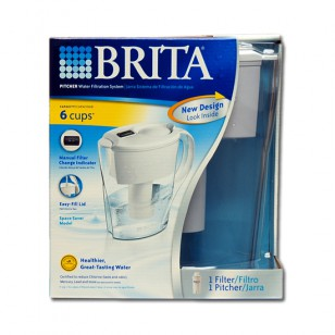 35250 Brita Space Saver Calendar-Minder OB21 48-Ounce Water Pitcher