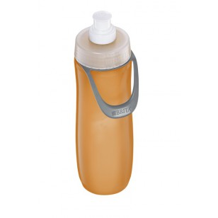 Brita Orange Filtered Water Bottle