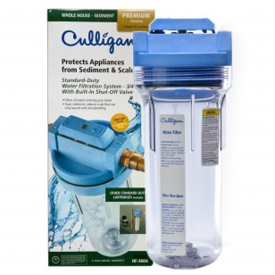 HF-360A Culligan Valve-In-Head Whole House Filter System