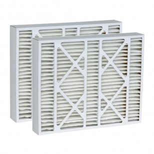 DPFW20X25X5 Tier1 Replacement Air Filter - 20X25X5 (2-Pack)