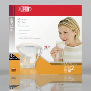 DuPont WFPT200X Mirage Filtered Water Pitcher