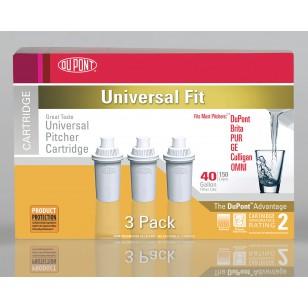 DuPont WFPTC053X Water Pitcher Replacement Cartridge 3 Pack