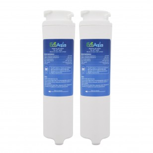GE MSWF Comparable Refrigerator Filter by EcoAqua (EFF-6022A) (2-pack)