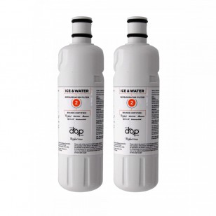 Whirlpool W10413645A EveryDrop EDR2RXD1 (Filter 2) Ice and Water Refrigerator Filter (2-Pack)