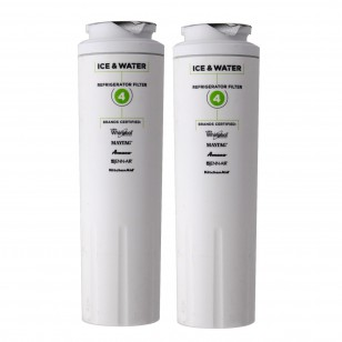 Maytag UKF8001 and Whirlpool 4396395 EveryDrop EDR4RXD1 (Filter 4) Ice and Water Refrigerator Filter