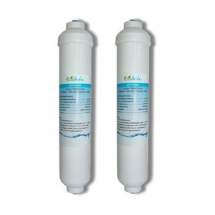 Aqua-Pure AP717 Comparable Refrigerator Filter by EcoAqua (EFF-6035A) (2-Pack)