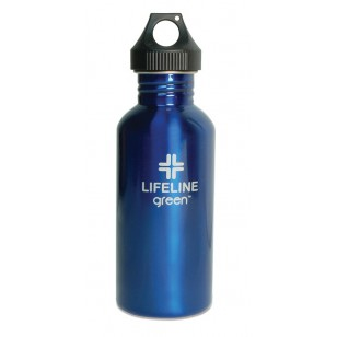 FiftyFifty 27 oz. S25001BLU Blue Insulated Water Bottle