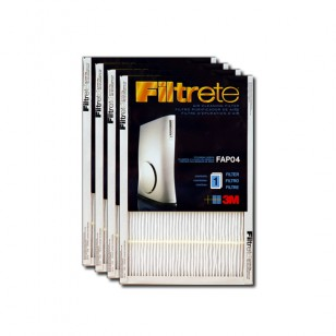 FAPF04-4 Filtrete Ultra Slim Air Purifier Replacement Filter (4-Pack)