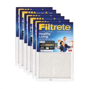 Filtrete 1900 Ultimate Allergen Filter - 16x25x1 (6-Pack)