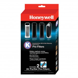 HRF-K2 Honeywell Household Odor and Gas Reducing Pre-filter (2-pack)
