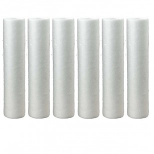 Hydronix SDC-45-2005 Whole House Sediment Filter Cartridge (6-Pack)