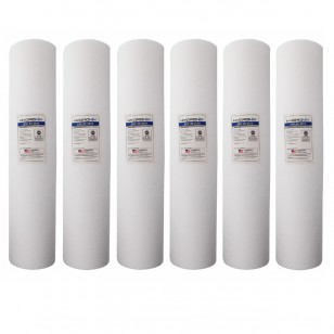 SDC-45-2010 Hydronix Water Filter Cartridge 6-Pack